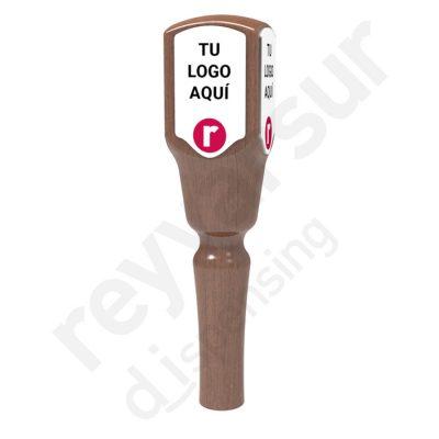 Mango Beerfalls modelo Ruacana madera wengué. Reyvarsur, soluciones en dispensación bebidas embarriladas, cerveza, vino, sidra, agua o soda.