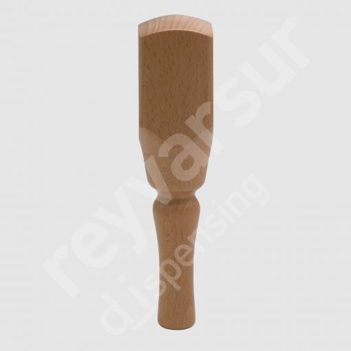 Mango Beerfalls modelo Ruacana madera castaño. Reyvarsur, soluciones en dispensación bebidas embarriladas, cerveza, vino, sidra, agua o soda.